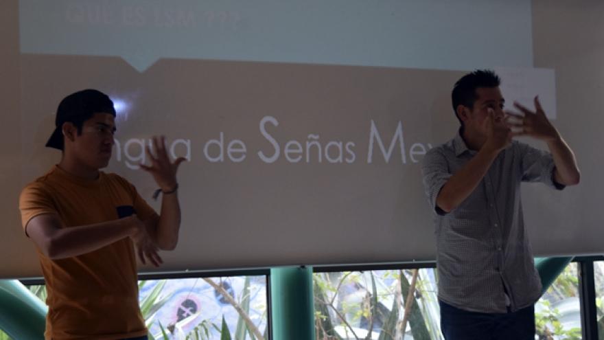 Taller de Lengua de Señas Mexicana