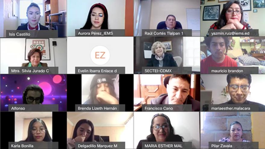"""Realiza el IEMS Ceremonia Virtual de Egreso 2020-2021 """"B"""""""